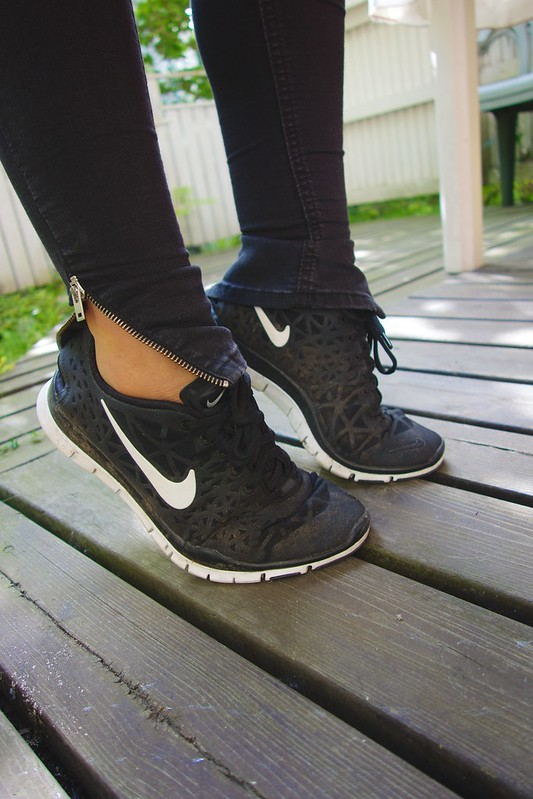 surfing the nike free 8