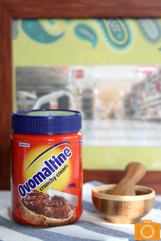 Ovomaltine display