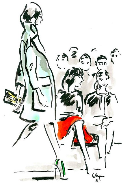 Burberry-SS14-Samantha-Cameron-Natalie-Massanet-Clym-Evernden-Illustrations