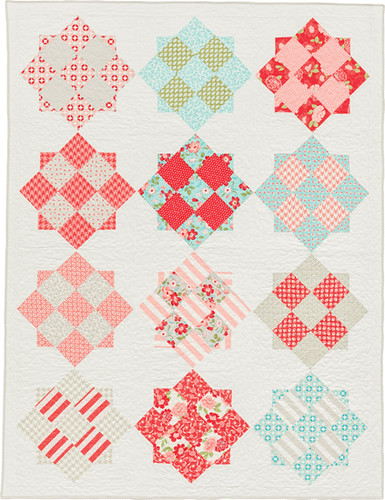 Refreshingly Retro - from Becoming a Confident Quilter