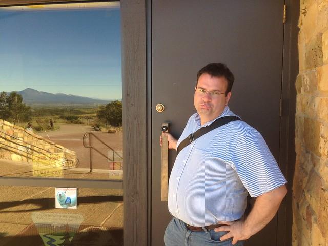 Anasazi Heritage Center -- Locked on October 1, 2013