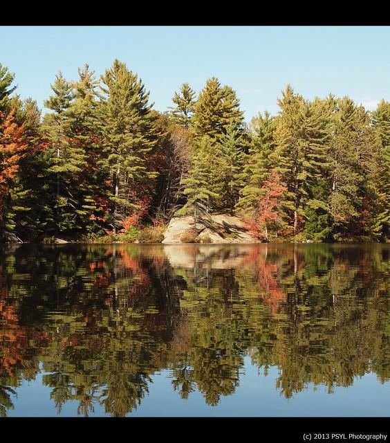 Wolf Lake Reflection 2