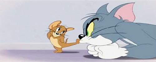トムとジェリー、仲良くケンカしな