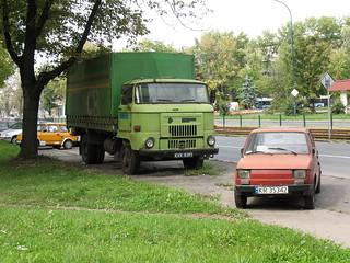 IFA L60 + FSM-Fiat 126