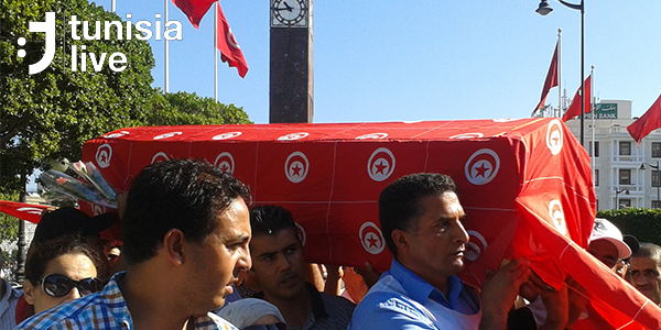 After Week of Attacks, Security Forces Protest in Downtown Tunis