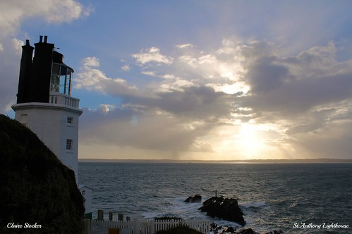St.Anthony Lighthouse, Roseland, Cornwall by www.stockerimages.blogspot.co.uk