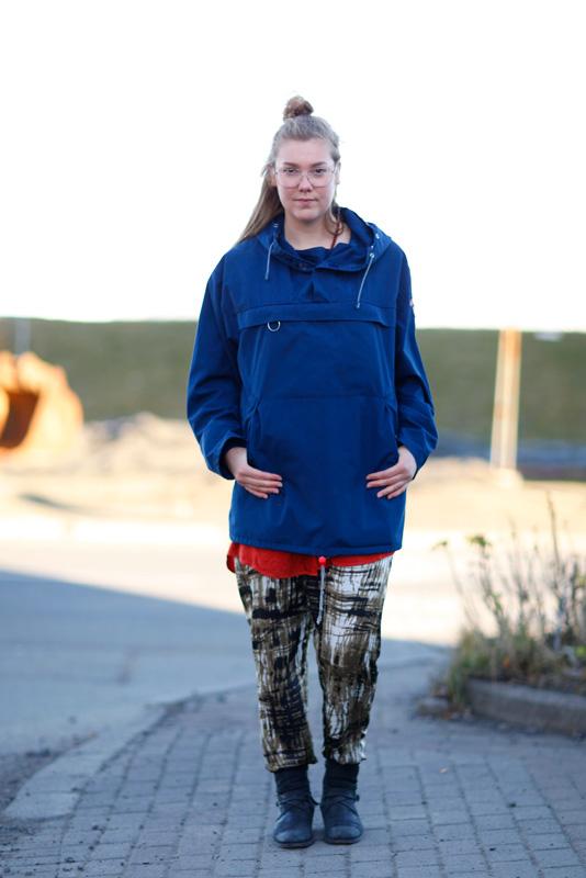 anorak_airwaves13 iceland, Iceland Airwaves13, Quick Shots, Reykjavik, street fashion, street style, women