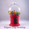 polymer clay gumball machine