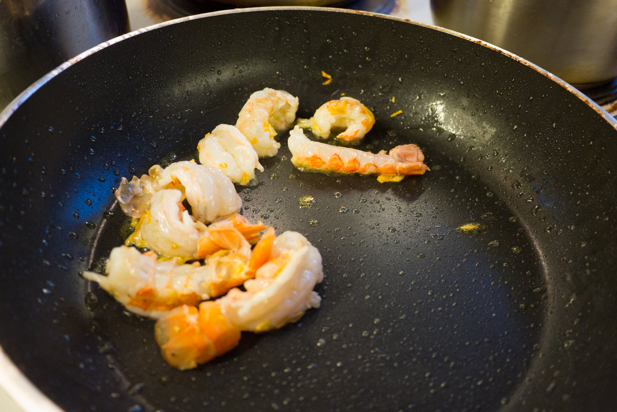 Tails: I love the ivory color and texture of the Icelandic Lobster