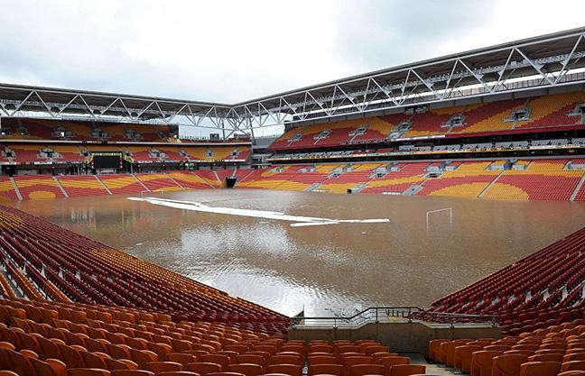 Suncorp Stadium. Image: @sarahharrisnews.
