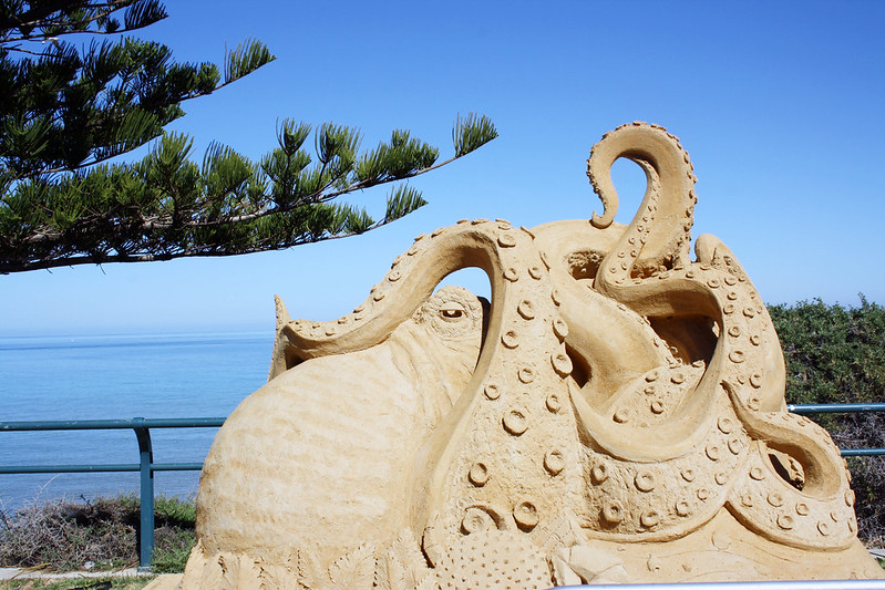 Sculptures at Christies Beach