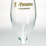 ベルギービール大好き!!【リーフマンス・グーデンバンド(リーフマンス・ハウデンバンド)の専用グラス】(管理人所有 )