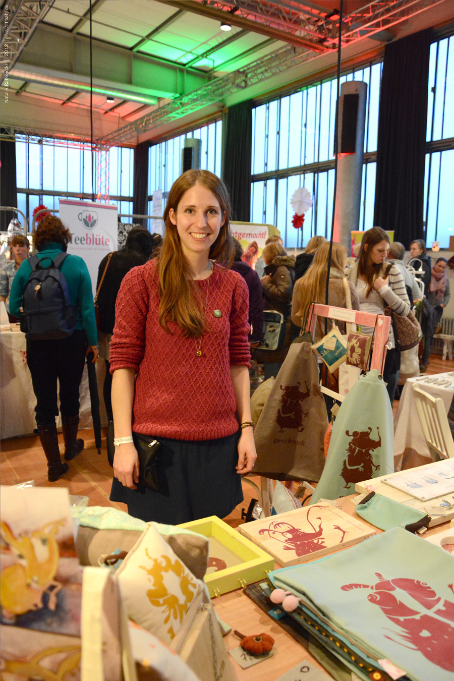Dawanda fair in Essen, Germany