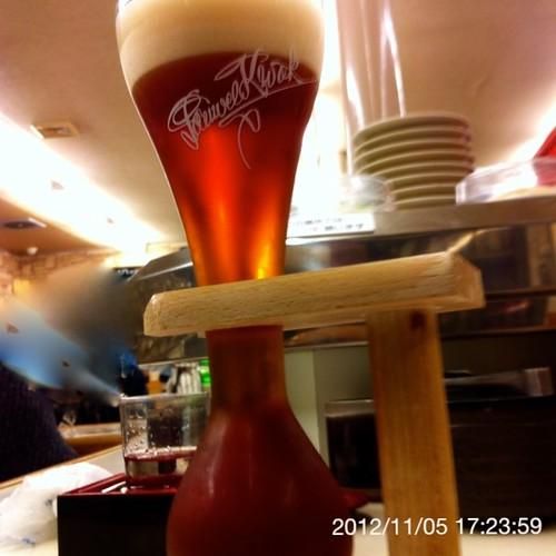 ベルギービール大好き!!パウエル・クワックPauwel Kwak @あじわい回転寿司 禅(ZEN)