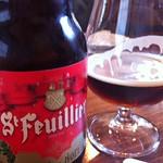 ベルギービール大好き!! サン・フーヤン・キュベ・デ・ノエルSt.Feuillien Cuve de Noel @CraftBeerBASE
