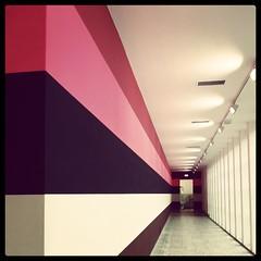 Hallway, museum Boijmans-Van Beuningen, Rotterdam.