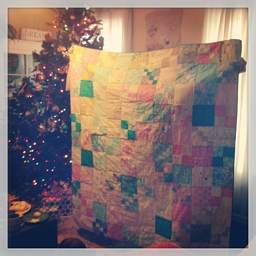 The finished quilt reveal. #yay #pennypatchqal