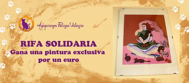 RIFA SOLIDARIA de PINTURA EXCLUSIVA: un número, un euro 11501604605_d738e931d4_z