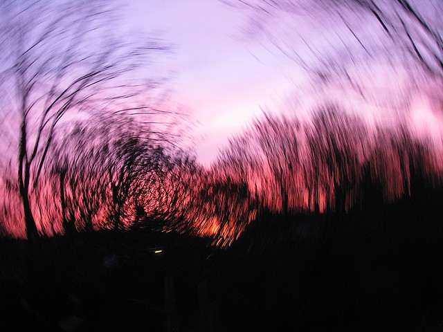 Swirly sky