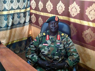 South Sudanese dissident Gen. James Koany Chuol of Unity state has announced his support for the opposition and the appointment of an interim administration. The rebellion is calling for the removal of President Salva Kiir. by Pan-African News Wire File Photos