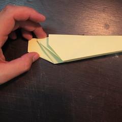 วิธีการพับกระดาษเป็นรูปหงส์ 013