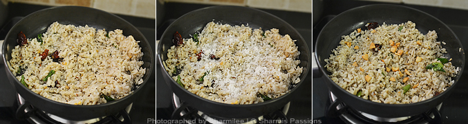 How to make pepper poha - Step3