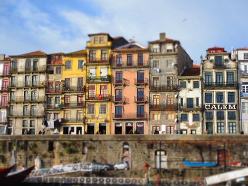 Ribeira do Porto by treboada