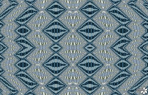 Funky Striped Diamonds