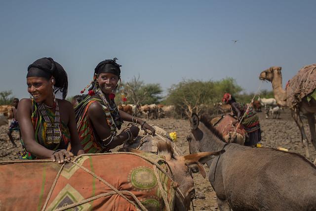 women eissa somali tribe in Afar region
