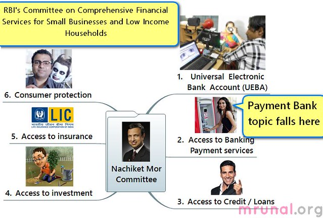 payment banks Nachiket mor Committee on financial services