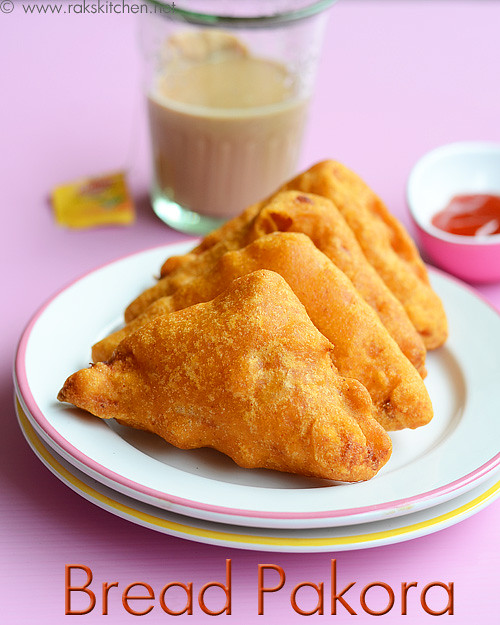 Bread Bajji - Bread Pakora Recipe