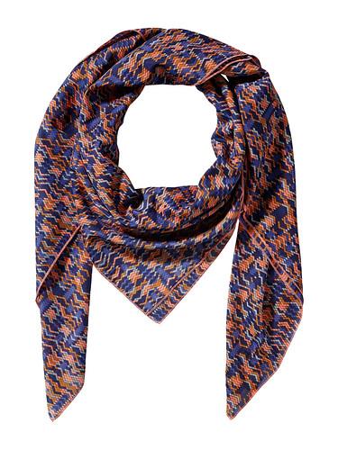 BlueOrangeScarf