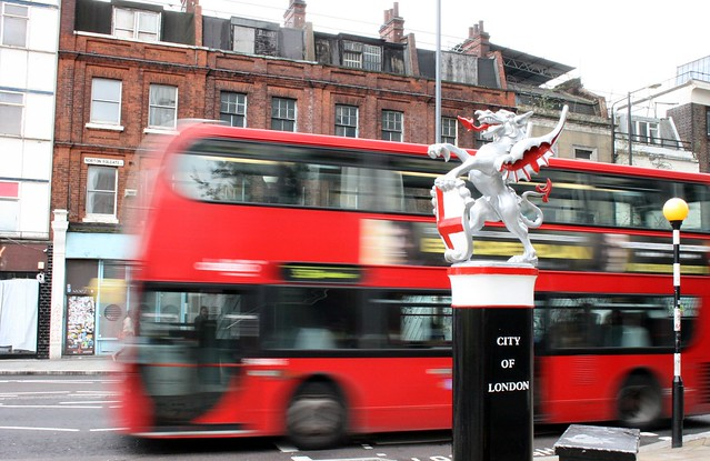 london city dragon and doubledecker