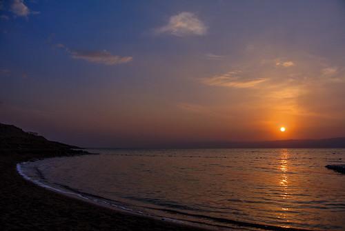sunset sky water wasser sonnenuntergang himmel jordan kati deadsea jordanien 2014 madaba totemeer nikonv1