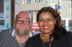 Donwald Pressly and Lindiwe Mazibuko