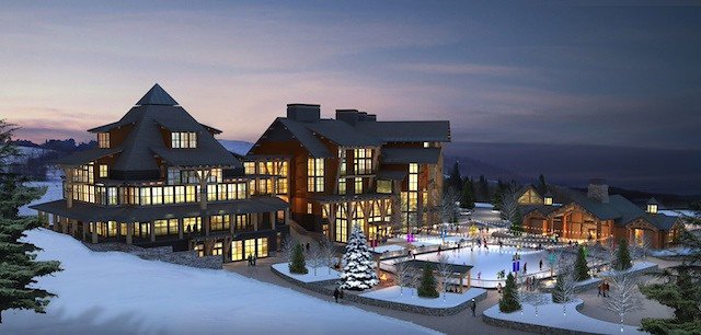 Spruce Peak rendering