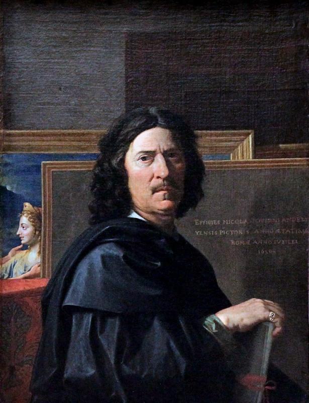 IMG_6516A Nicolas Poussin. 1594-1665. Rome. Autoportrait. 1650. Louvre.
