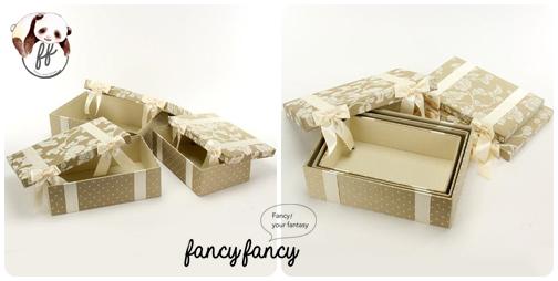 86.優雅宮廷風緞帶蝴蝶結收納盒(美國設計 大中小三個一組)-象牙色細節