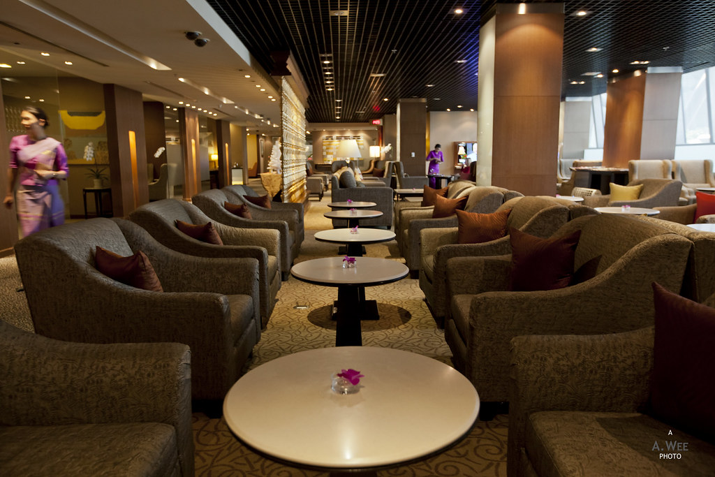 Thai Airways Royal First lounge