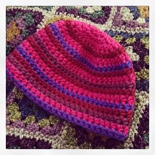 Another #myboshi beanie for my girl. #crochetaddict