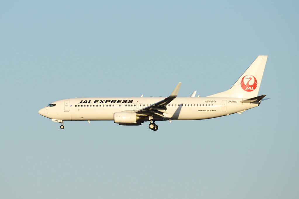 JAL 737-800WL JA348J