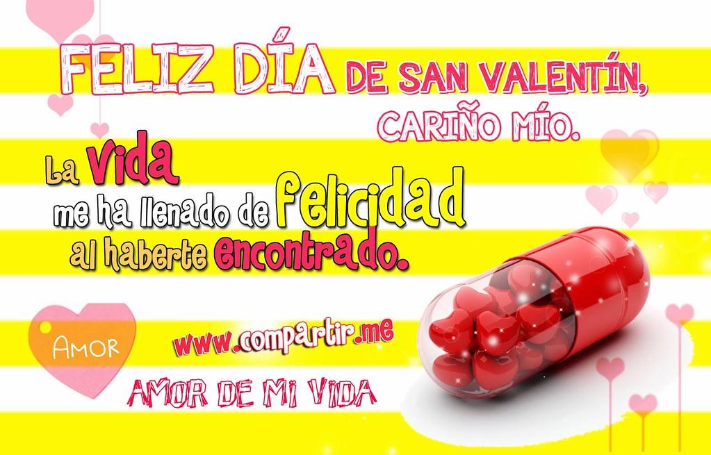 Imágenes De San Valentín: Tarjeta De Feliz Día De San Valentin Cariño Mio  14 De