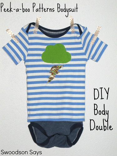 12566662074 7bfe3865a8 Peek a boo Patterns Bodysuit & Lap Tee   Hacked into a Body Double Tutorial