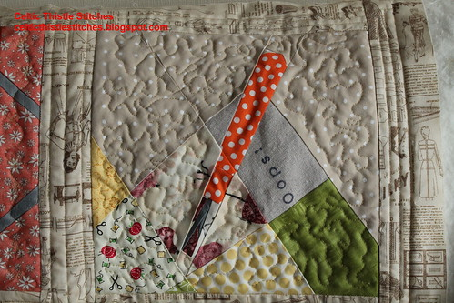 And Sew On BOM quilting