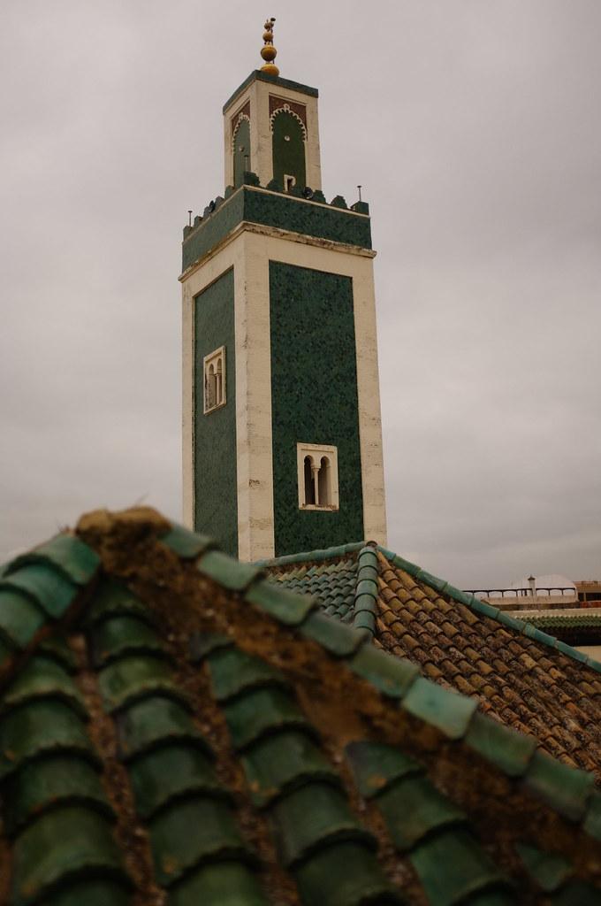 Medersa rooftop / minaret