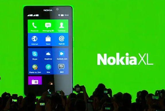 Nokia XL на Android