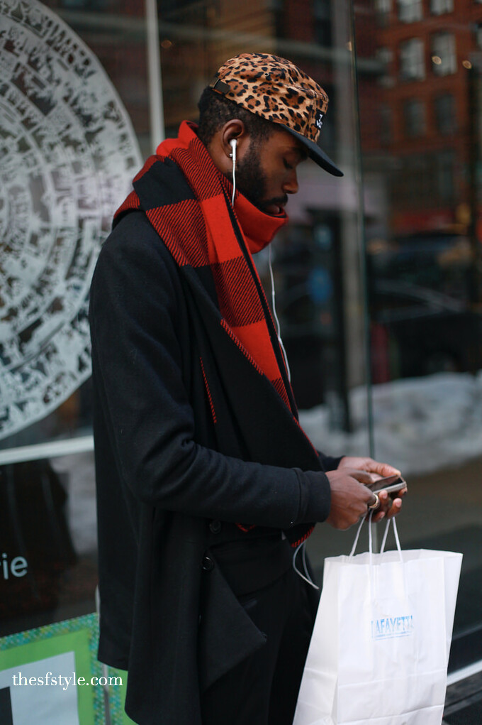 mixed prints, mixed patterns, mixed textures, man morsel monday, new york streetstyle fashion blog,