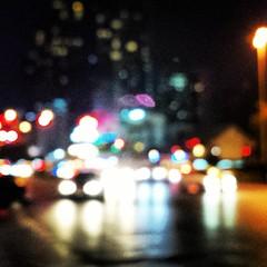 Bangkok blur