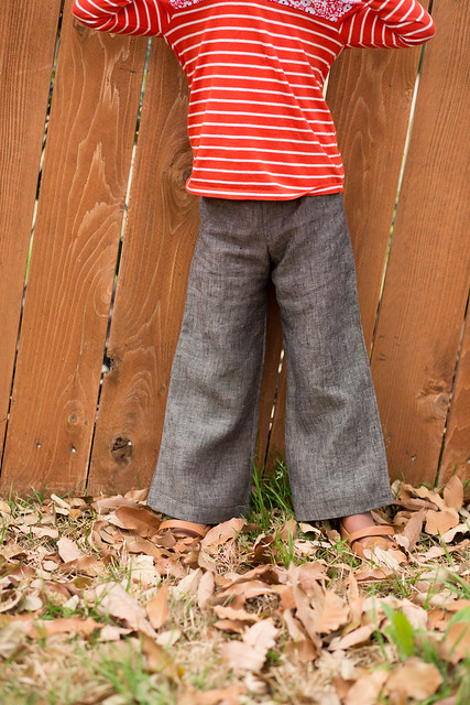 linen pants - sew chic kids