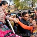 Sonia Gandhi interacts with students at Raebareli 07